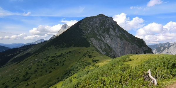 Mahnkopf (2094 m) nahe der Falkenhütte