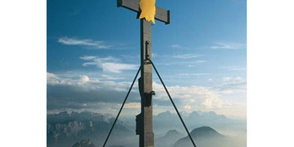 Gipfelkreuz.