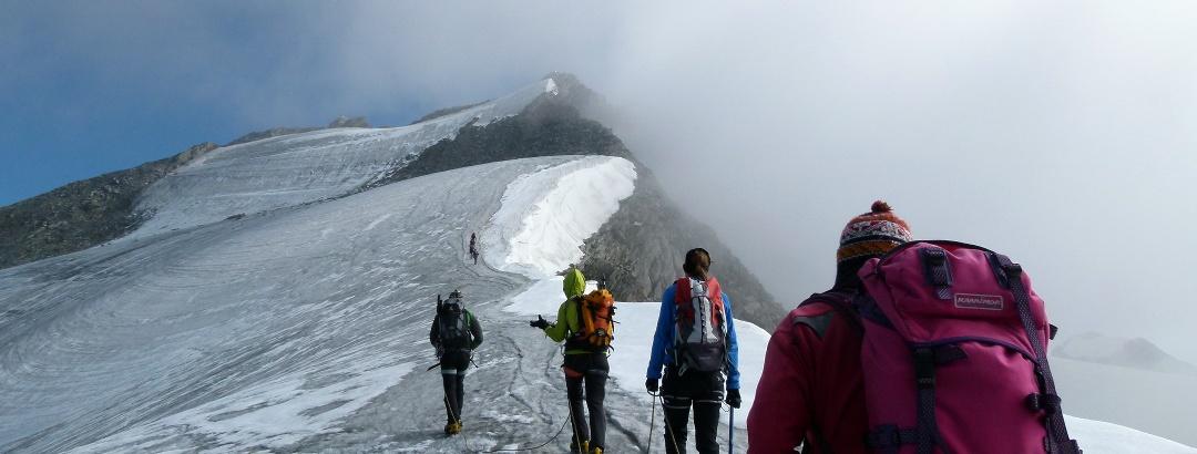 Dem Gipfel nahe