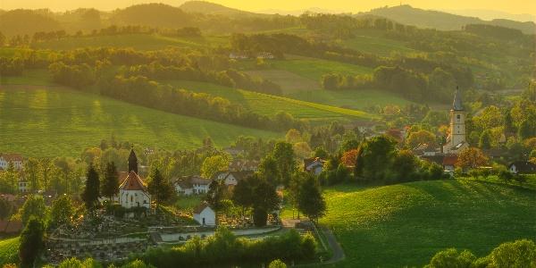 Blick auf Krumbach | Bucklige Welt