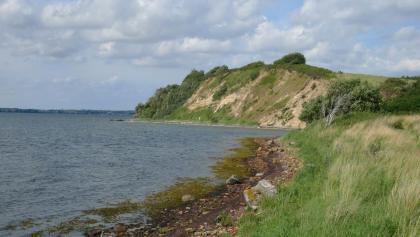 Die Steilküste von Holnis