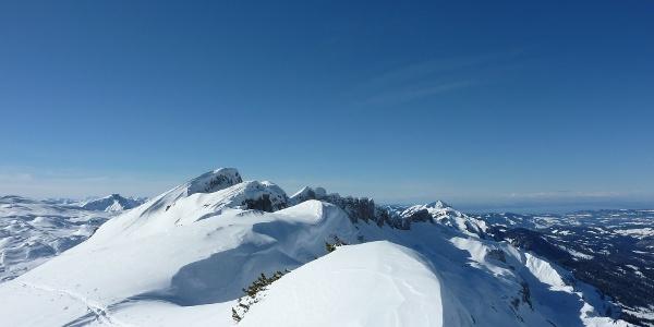 Ausblick vom Toreck im Winter