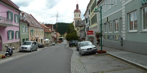 Birkfeld Hauptplatz