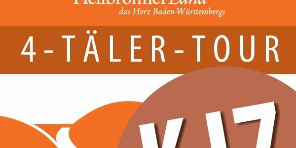 Routenplakette KJ7 - 4-Täler-Tour