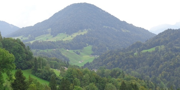 Blick auf den Hittisberg
