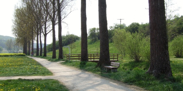 entlang der Egau bei Neresheim