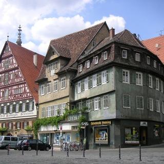 Die Altstadt von Esslingen.