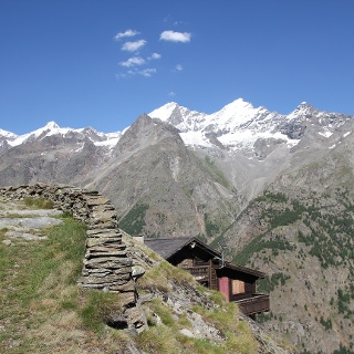Schaliberg (2'000 m) au-dessus de Randa