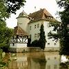 Das Wasserschloss in Kleinbardorf wurde 1589/90 erbaut und befindet sich heute in Privatbesitz.