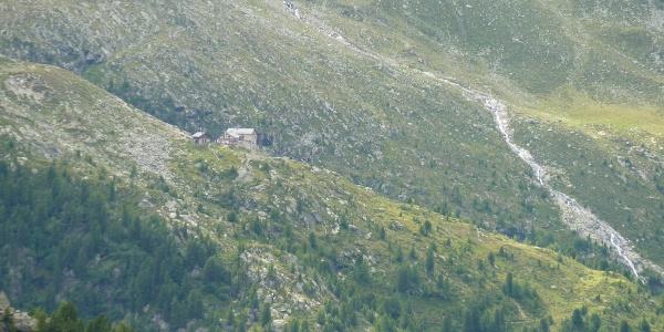 Kasseler Hütte vom Arthur-Hartdegen-Weg