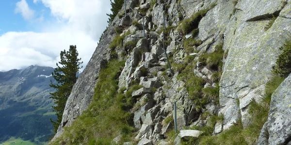 Kletterstelle am Arthur-Hartdegen-Weg