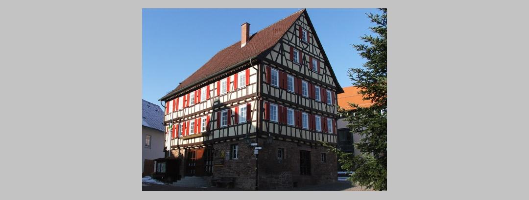 Der Marktplatz von Neubulach.
