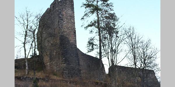 Die Ruine Neufürstenberg.