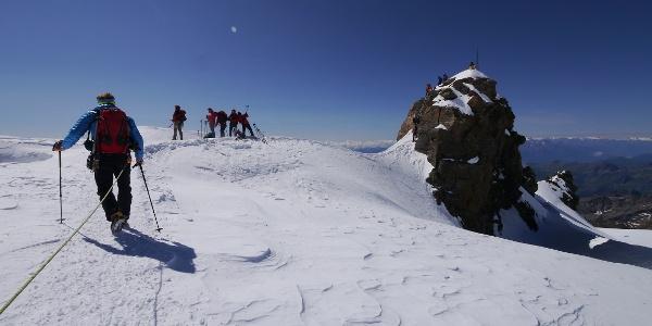 Aufstieg zum Balmenhorn