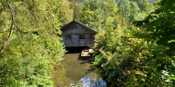 Fischerhütte bei Seehof