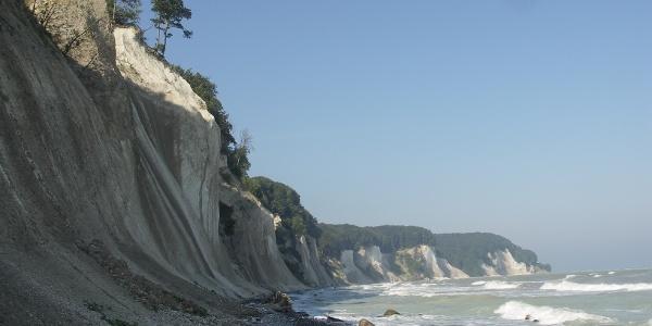 Die Steilküste.