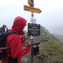 Auf dem Gafier Joch (2.415 m)