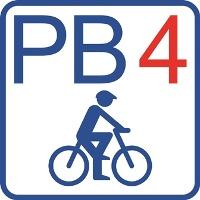 """Routenlogo """"PB 4"""""""