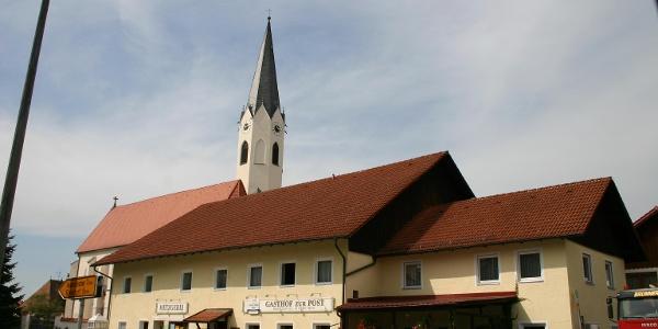 Ortskern Malgersdorf.