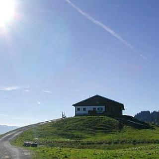 Auf unserer Tour kommen wir an verschiedenen Alpen vorbei.