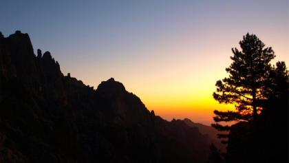 Sonnenaufgang um 1400 m