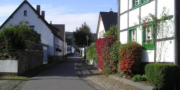 Odenbachstraße in Blens