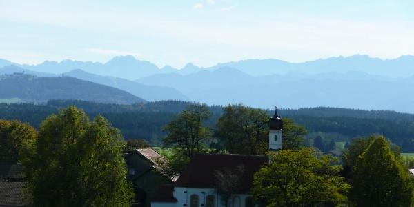 Oberbayern wie aus dem Bilderbuch