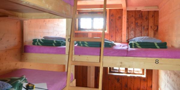 Eines der Matratzenlager - Schlafkomfort auf bis zu drei Ebenen