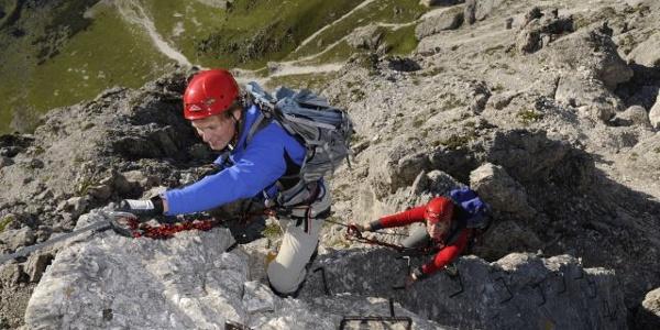 Sommerwand-Klettersteig
