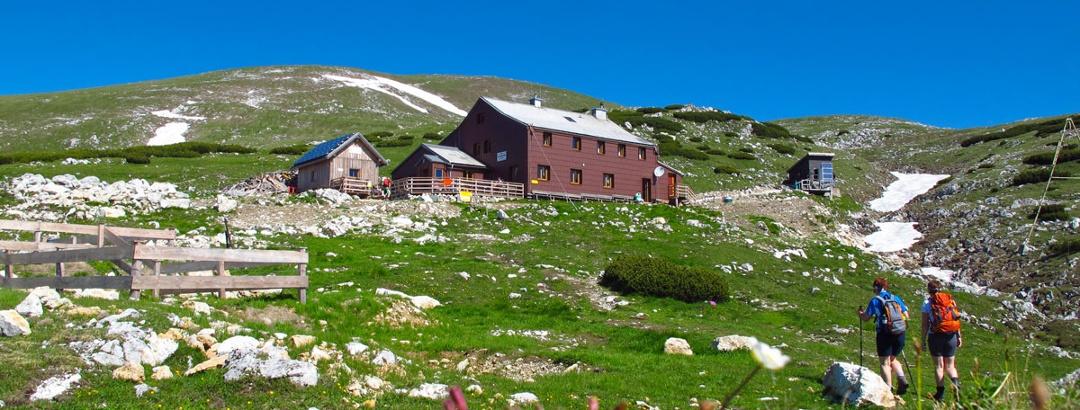 Graf-Meran-Haus mit Hoher Veitsch