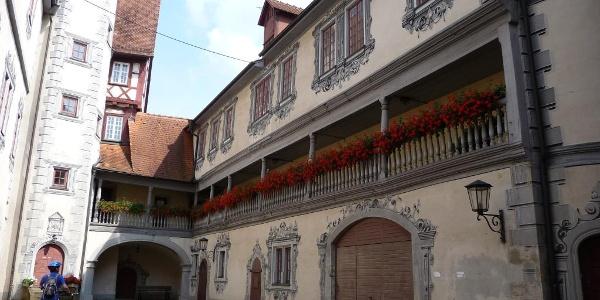 Innenhof Altes Schloss Gaildorf