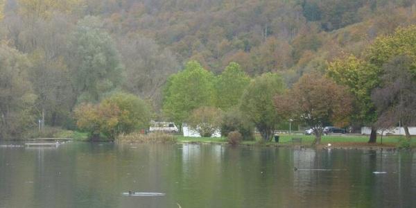 Wohnmobilstellplatz Itzelberger See