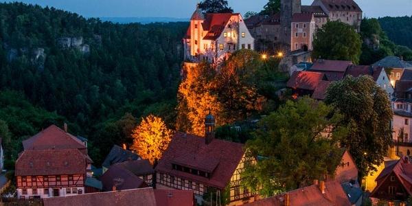 Hohnstein bei Nacht