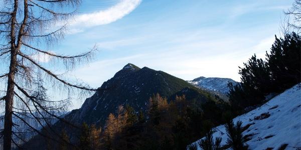 Schillereck beim nordseitigen Abstieg vom Spering