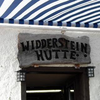 Bliebte Einkehrmöglichkeit bei der Widderstein-Umrundung: die Widdersteinhütte.