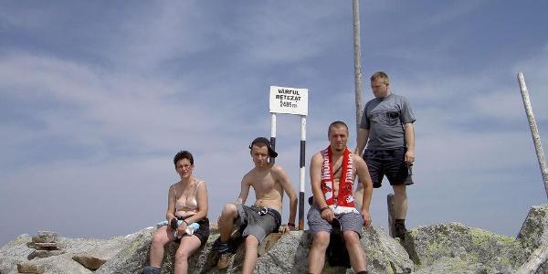 Retezat Gipfel
