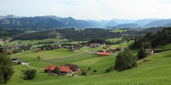 Blick auf Hüttenberg