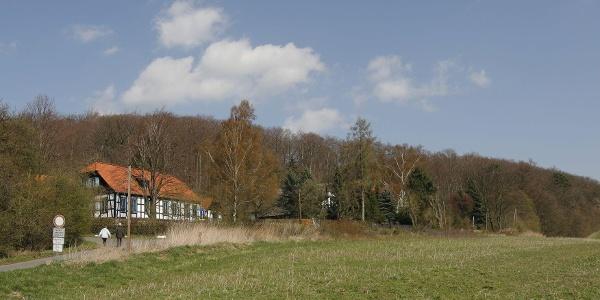 Ehemaliges Forsthaus am südlichen Harly-Waldrand