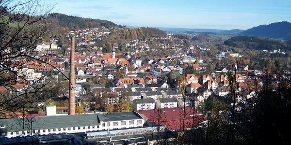 Blick über Immenstadt.
