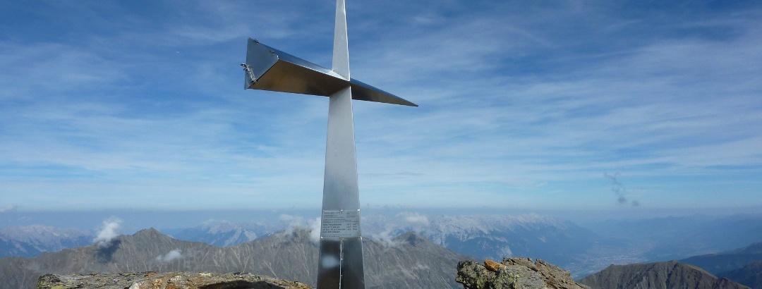 Gipfelkreuz Haidenspitze