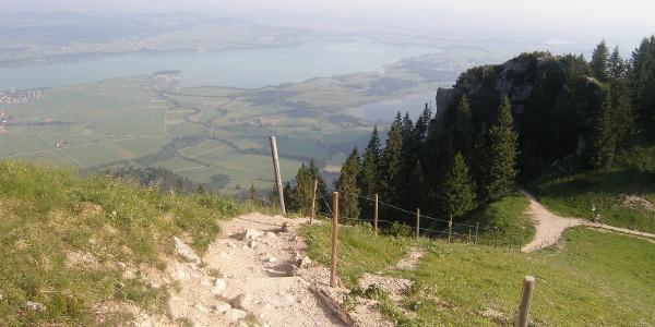 Blick vom Tegelberg