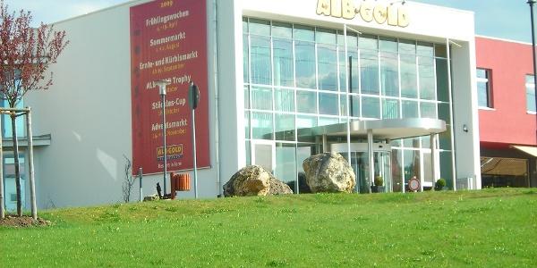 Fabrikgebäude des Albgold Teigwaren.