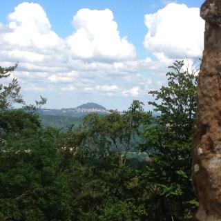 Ausblick Ruine Spitzenberg