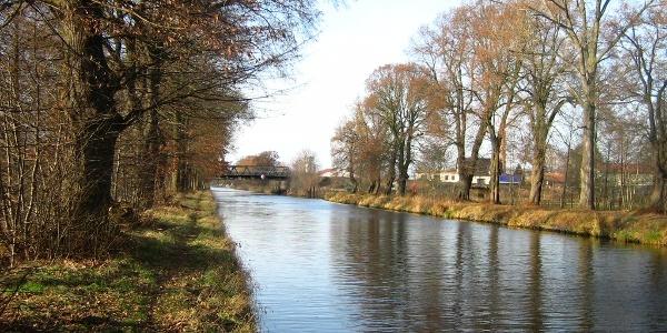 Der Vosskanal bei Liebenwalde.