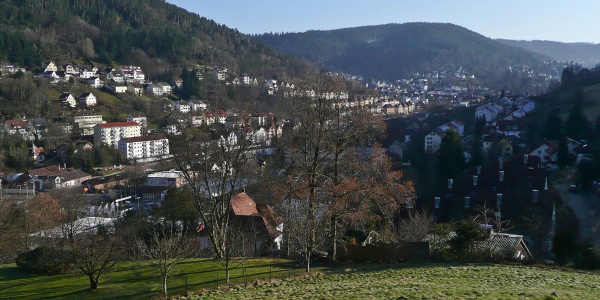 Blick über Schramberg Talstadt