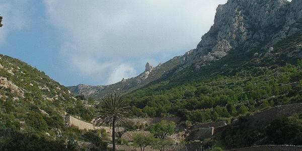 Vista al antiguo monasterio