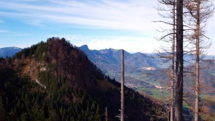 Großer Spitzberg 1396m vom Kleinen gesehen