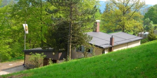 Die Donzdorfer Hütte.