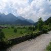 Im Anstieg zum Dreiländereck bietet sich ein schöner Blick auf das Lechtal.