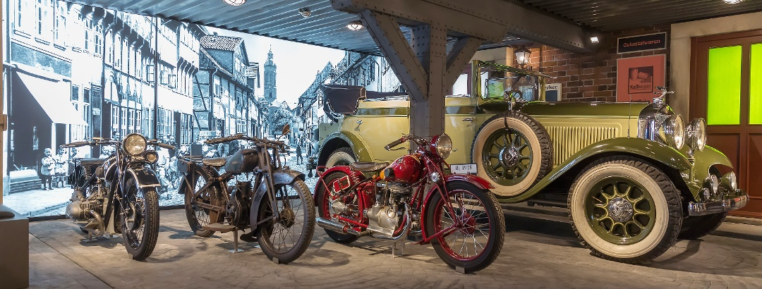 Historische Fahrzeuge im PS.SPEICHER